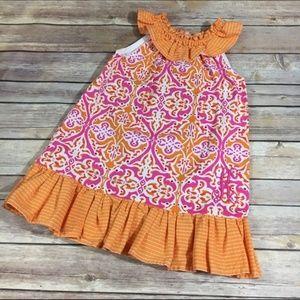 Other - Monogram K Pink Orange Dress 2